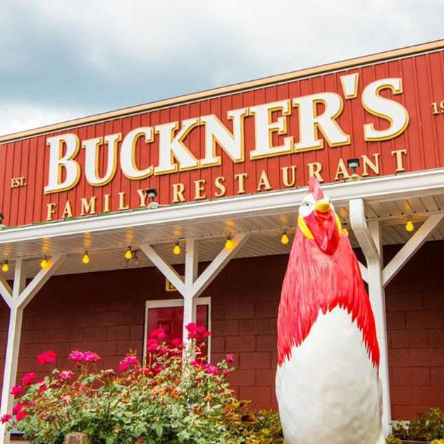 Buckner's family restaurant building